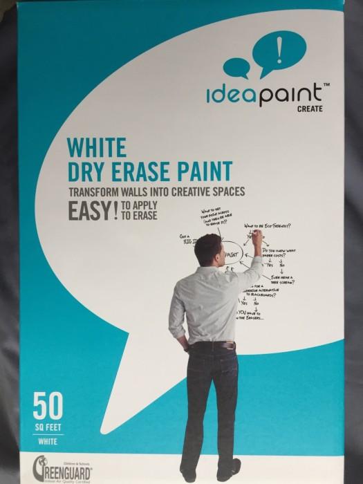 ホワイトボード塗料 IdeaPaint(アイデアペイント)